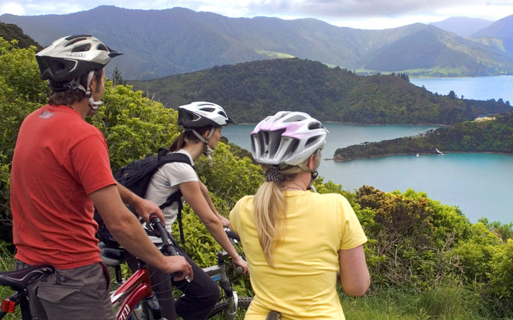 Get active in the Marlborough Sounds